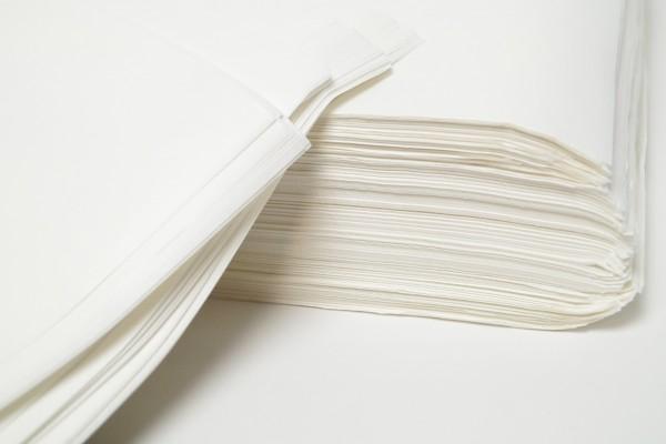 Seidenpapier Bögen