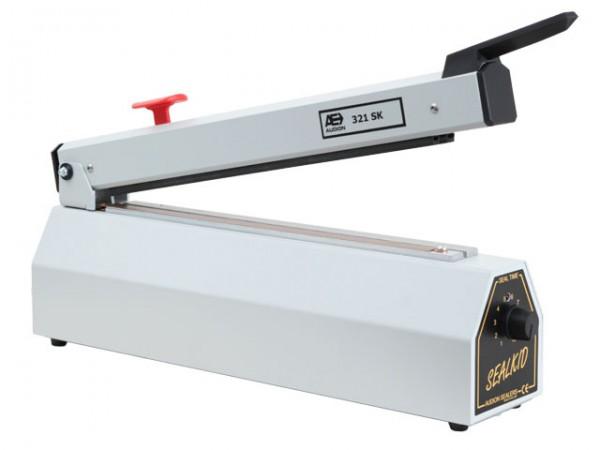 Impuls Balkenschweißgerät günstig sofort ab Lager. Beutelherstellung aus LDPE oder PP.