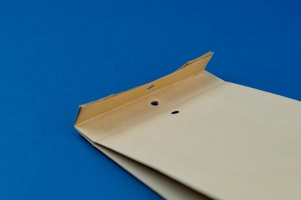 Musterfaltenbeutel aus Papier für Warensendungen