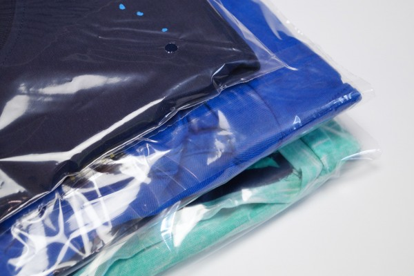 10.000 Polybags Standard Textilverpackung B-Ware
