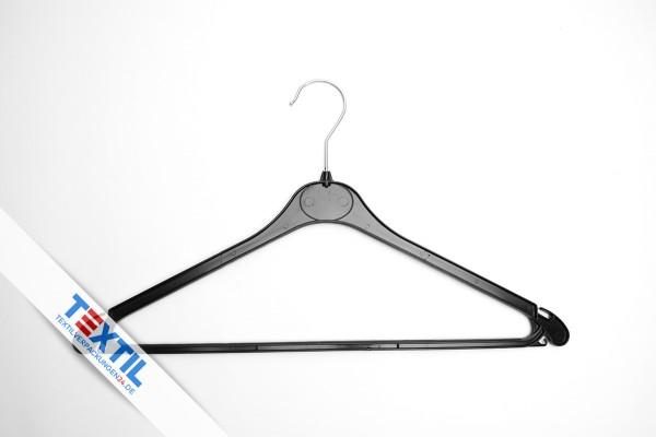 Kunststoff Kleiderbügel mit gummiertem Steg