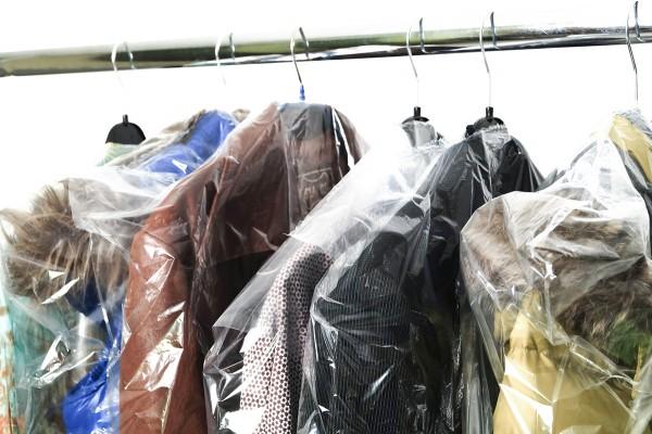 LDPE Kleiderschutzhüllen transparent