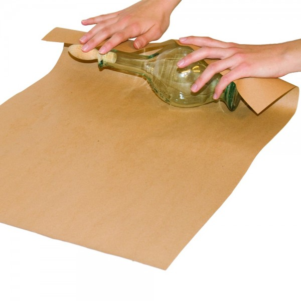 Packpapier braun auf Rolle