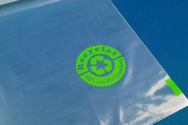Flachbeutel aus Recyclat rLDPE